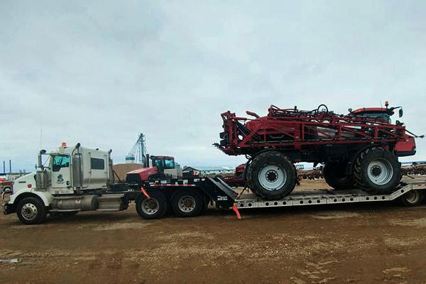 Farm Equipment Transport